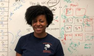 Nadine, Student, Lab