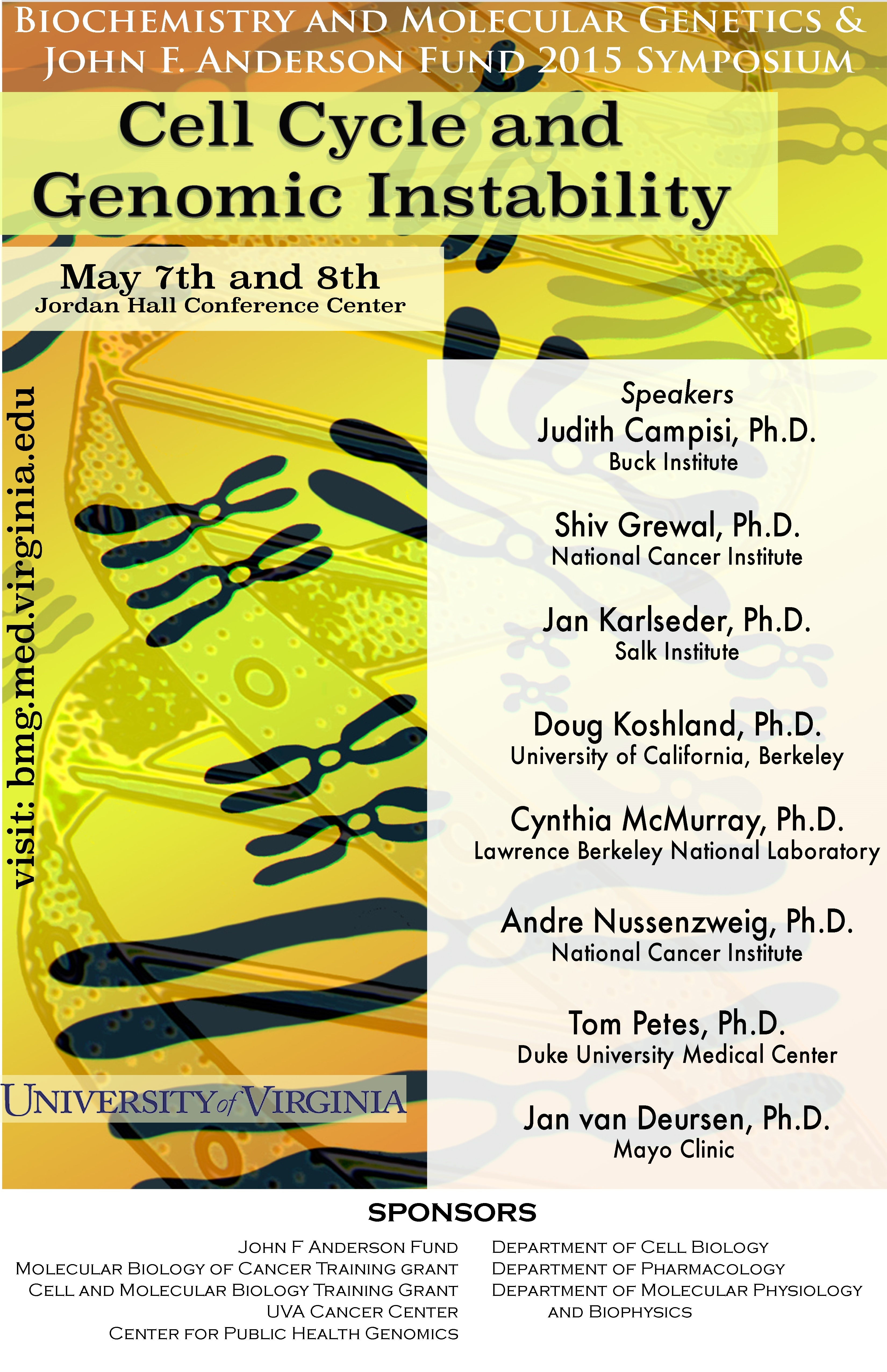 BMB Symposium 2015 - Biochemistry and Molecular Genetics